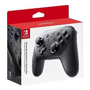 Controle Nintendo Switch Pro Preto - Super Smash Bros