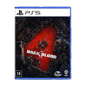 Back 4 Blood - Ps5 - Pré Venda -12/10/21