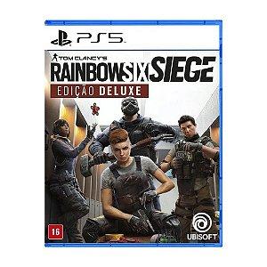 Tom Clancy s Rainbow Six Siege - Edição Deluxe - Ps5