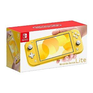 Console Nintendo Switch Lite Yellow