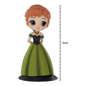 Action Figure - Disney - Q Posket - Anna (Frozen) - Coronation Style - Banpresto