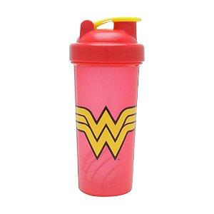 Garrafa Shake Wonder Woman Logo - DC Comics