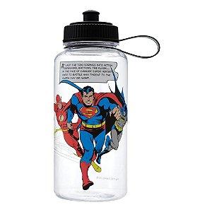 Squeeze Garrafa Justice League- Batman, Superman e Flash - DC Comics