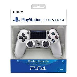 Controle Sem Fio Dualshock 4 Sony White - PS4