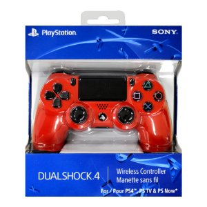 Controle Sem Fio Dualshock 4 Sony Red - PS4