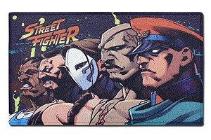 Capacho Perfil Vilões - Street Fighter - Decoração - GeeK