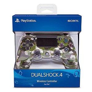 Controle Sem Fio Dualshock 4 Sony Camuflado - PS4