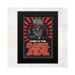 Pôster Com Moldura - Dark Side