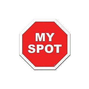 Placa de Parede Estilo Trânsito - My Spot