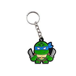 Chaveiro Cute Ninja Leonardo - Desenho