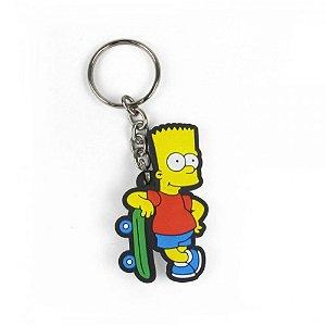 Chaveiro Cute   Barte Skate - The Simpsons