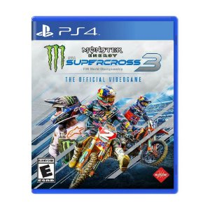 Monster Energy Supercross The Official Videogame 3 - PS4