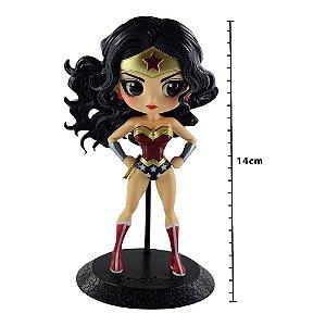 Action Figure - Dc Comics Q Posket - Wonder Woman - Mulher-Maravilha - Banpresto