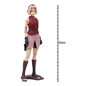 Action Figure - Naruto Shippuden - Shinobi Relations - Grandista - Haruno Sakura - Banpresto