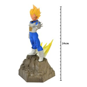 Action Figure - Dragon Ball Z - Absolute Perfection - Vegeta - Banpresto