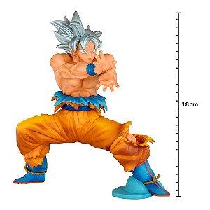 Action Figure - Dragon Ball Super - Ultra Instinto Superior - Goku - Banpresto