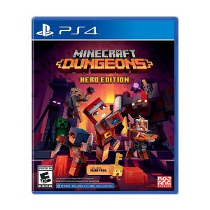 Minecraft Dungeons - Hero Edition Game - PS4