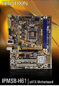 Placa mãe LGA 1155 PcWare - IPMH61R2
