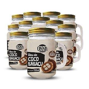 Óleo de Coco Babaçu 250 ml - 12 UNIDADES