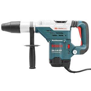 Martelete Perfurador Rompedor 1150 Watts 220 Volts SDS Max GBH5-40DCE Bosch
