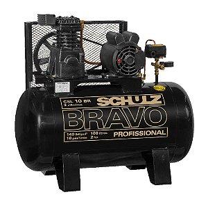 Compressor bravo CSL 10BR/100L Schulz