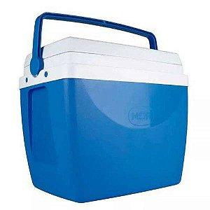 Caixa térmica 34 litros azul mor azul