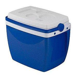 Caixa térmica 18 litros azul mor