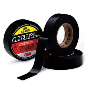 Fita Isolante 3m Imperial 19x20 Mts