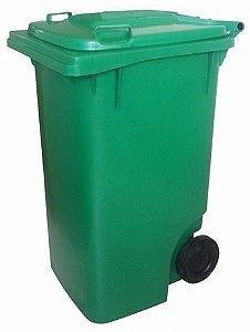 Coletor de lixo 240L com rodas