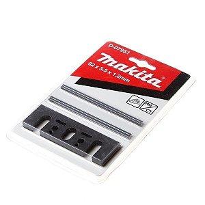 Jogo Mini Faca Para Plaina 82mm Com Placa Ajustável Makita