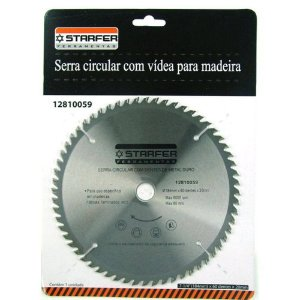 Serra Eletrica Circular C/ Vídea 9 1/4'' 48 Dentes - Starfer
