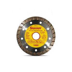 Disco de Corte Diamantado Turbo 110mm- Starrett