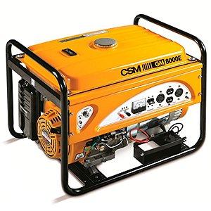 Locação gerador gasolina 8000 KVA CSM