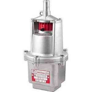 Bomba Dágua Submersa Vibratória Poço 650 110v/220v