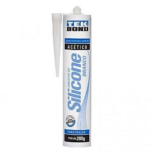adesivo de silicone branco Tek Bond