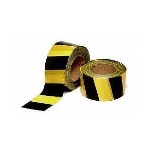 Fita para demarcação zebrada amarela/preta Worker