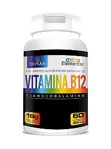 B12 Cianocobalamina 60cps - Bionutrir