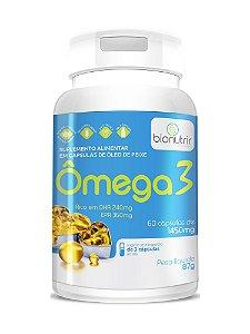 Ômega 3 (1000mg) 60 Cáps Bionutrir - Alto Teor Epa E Dha