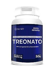 Magnésio Treonato (500mg) 60 Cápsulas - Bionutrir