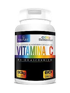 Vitamina C (500mg) 60 Cápsulas - Bionutrir