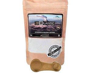 Zeolita Zeoquantic Premium 200G Potencializada e Frequênciada - 2 ciclos Com dosador