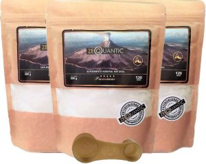 Kit Zeólita Clinoptilolita 3x 300g Premium ( 9 ciclos total ) Com dosador