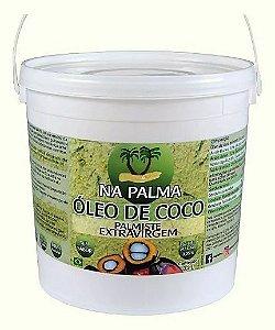 Óleo De Coco Extra virgem (100% Orgânico por Moagem a Frio) 3,2Lt - Sem Sabor e Cheiro.