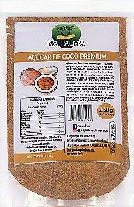 Açúcar De Coco Premium Orgânico - 250g - 100% natural