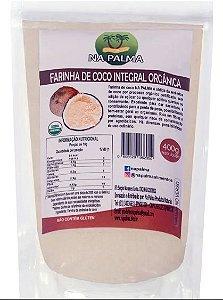Farinha De Coco Orgânica Napalma 400grs Integral