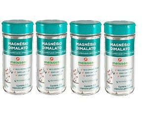 Magnésio Dimalato 500mg  480 Cápsulas ( 4 UNIDADES )