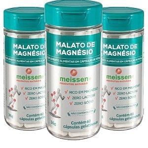 Magnésio Dimalato 500mg 180 Cápsulas ( 3 UNIDADES)