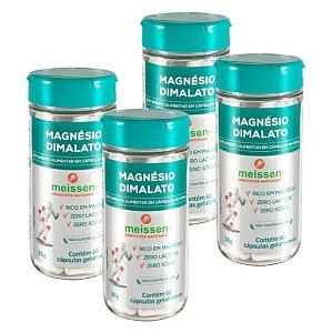 Magnésio Dimalato 500mg 240 Cápsulas ( 4 UNIDADES )