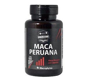 Maca Peruana 500mg - 100% Pura Macrophytus 60 Cápsulas