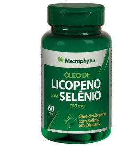 Licopeno + Selenio Softgel 500 Mg Macrophytus 60 Caps